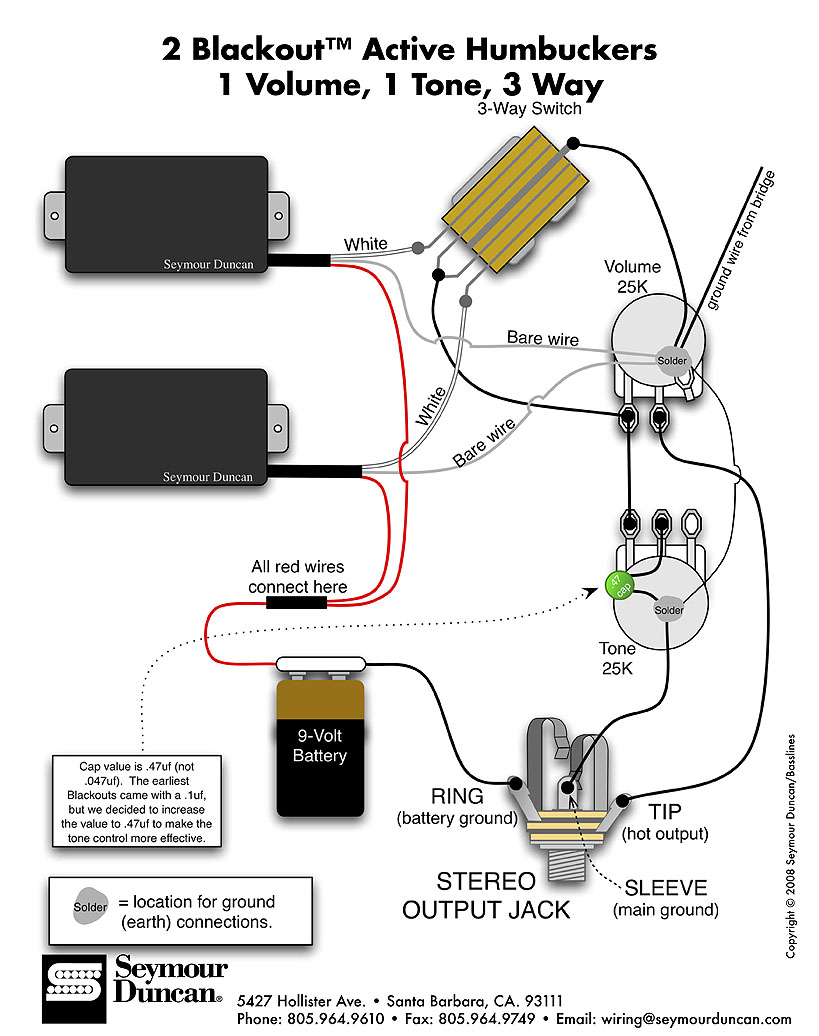 Split Coil Pickup Wiring Diagram Not Lossing Humbucker Get Free Image About Seymour Duncan Pickups Schematics Dimarzio Diagrams On Off Switch With